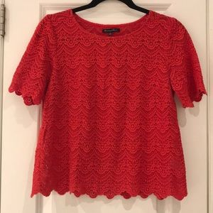 Madewell Broadway & Brooke Lace Top